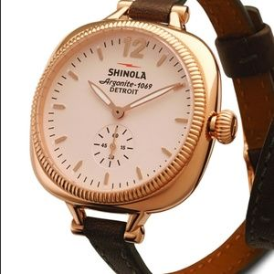 Shinola the Gomelsky Rose Golden Watch